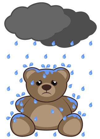 dreary: Rain bear