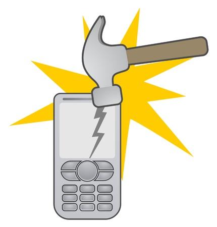broken down: Tech service Illustration