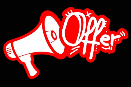 new opportunity: Offer megaphone message