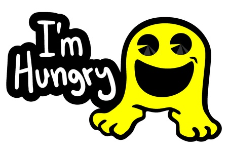 Hungry doll Stock Vector - 18850668