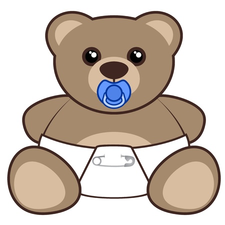Nice baby bear Stock Vector - 19032953