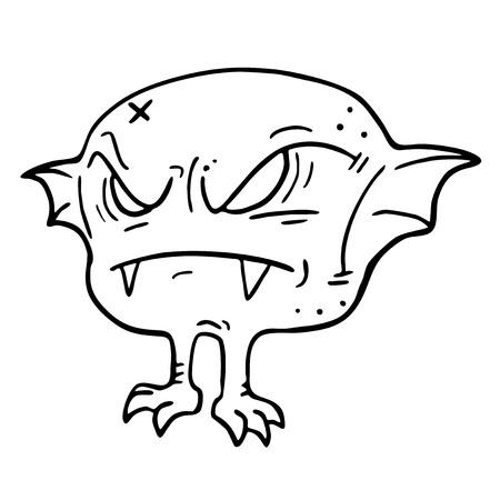 exterminate: Small murci�lago Vectores