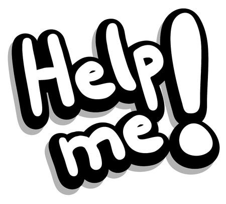 palliative: Help me message