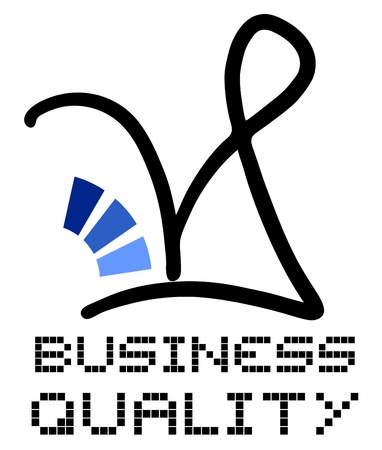 negotiating: Quality icon Illustration