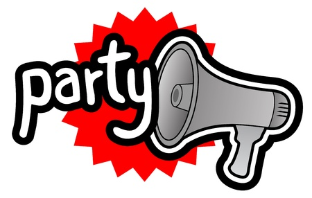 partying: Party megaphone