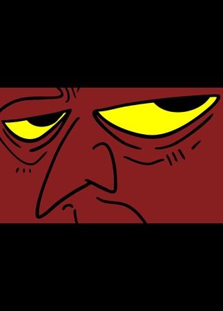 Demon face
