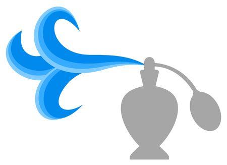 emanate: Perfume symbol Illustration