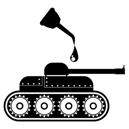 cruet: Oil tank