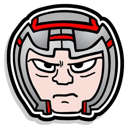 Helmet protect Vector