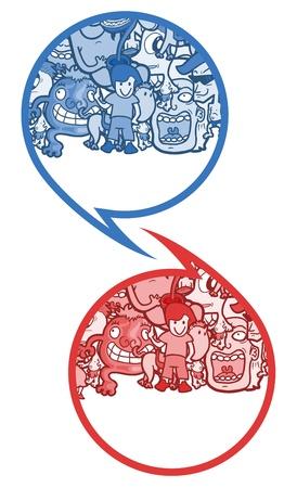 Comic symbol art