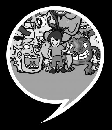 Comic symbol design