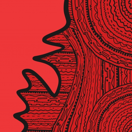 threadbare: Copertina rossa