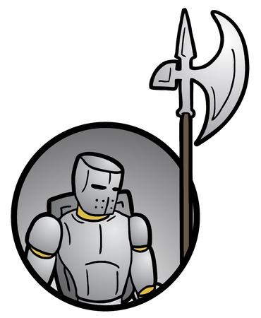 halberd: Army medieval man