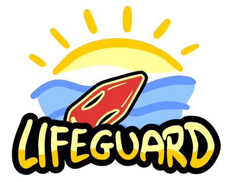 Lifeguard sun Vector