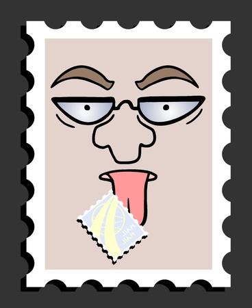 telegrama: Publique tarjeta divertida empate