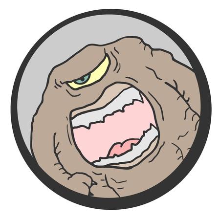 prodigy: Monster hazard draw Illustration