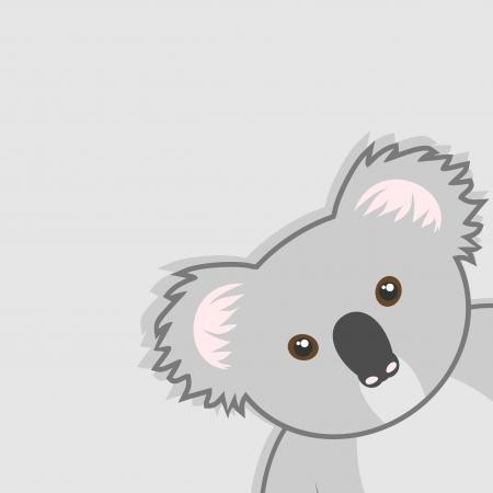coala: Divertido koala Vectores