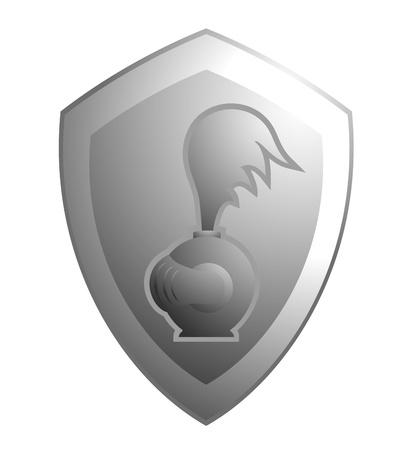 shield emblem: Scudo emblema