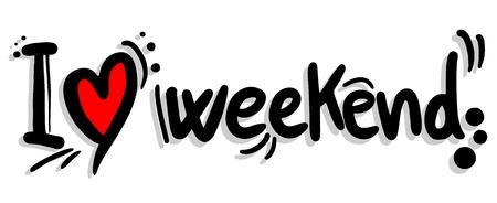 週末を愛してください。