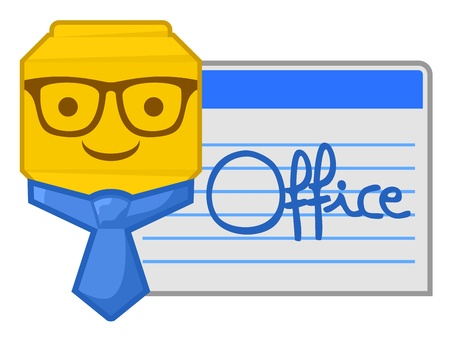 Office card Vector