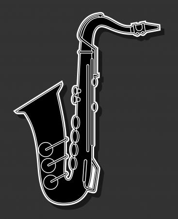 polyphony: Elegant sound Illustration