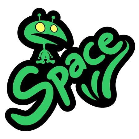 Space boy Stock Vector - 19699618