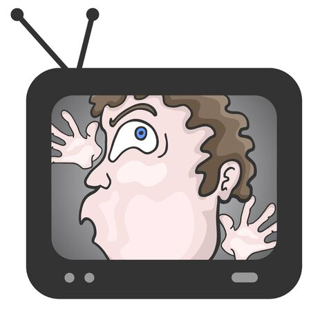 trapped: Trapped television Illustration