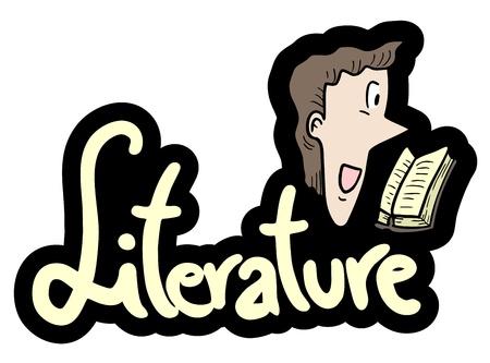 humanism: Literatura le�do Vectores