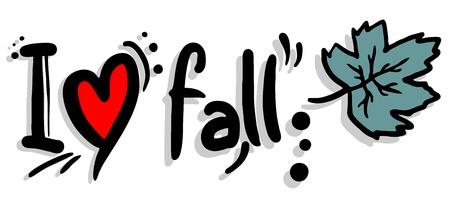 landslide: I love fall
