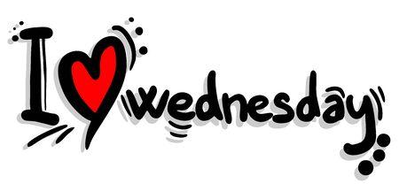 wednesday: I love wednesday