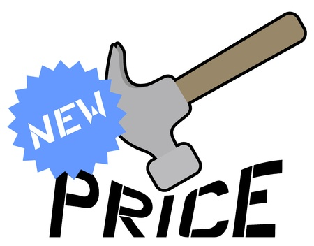 New price message Vector