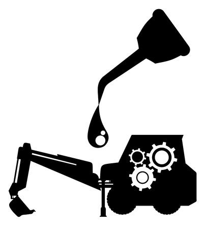 Oil machine 向量圖像