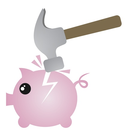 capitalismo: Hummer quebrado porco
