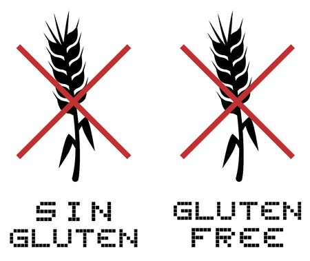 No gluten Stock Vector - 19858375