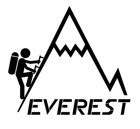 Everest up Vector