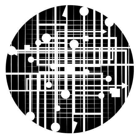Abstract emblem Stock Vector - 19993539