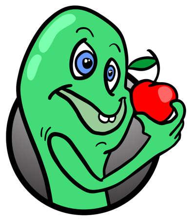 tirade: Nature apple Illustration
