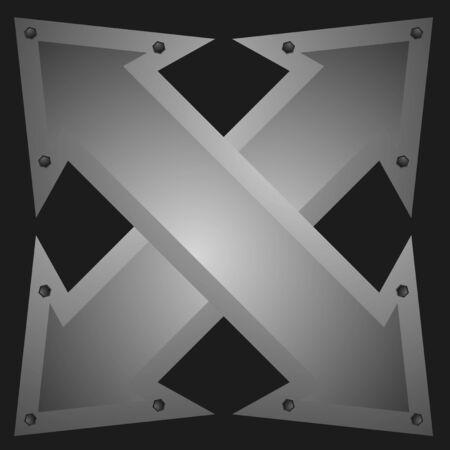 Arrows emblem Stock Vector - 19993524
