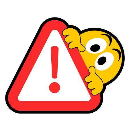Alarm danger sign Stock Vector - 19858445