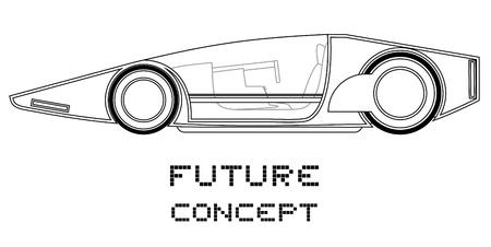 Future concept Stock Vector - 19858477
