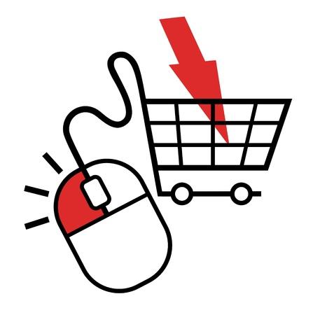 Buy mouse click button Stock Vector - 19858448