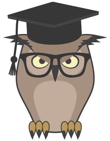 Intelligence teacher Vector