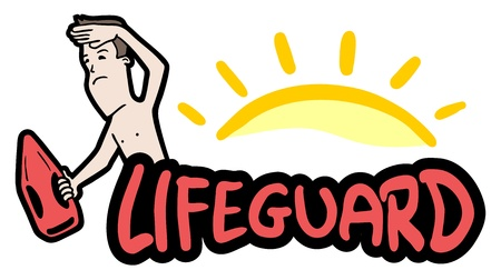 Lifeguard symbol Vector