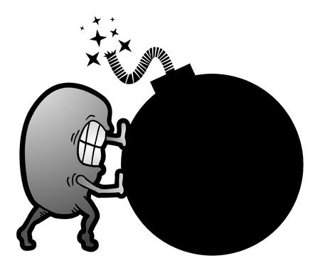 hurl: Danger bomb