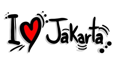 jakarta: I love Jakarta