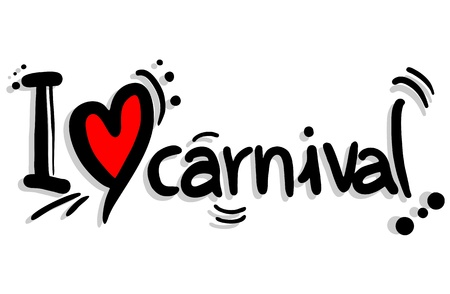 I love carnival Stock Vector - 20139705