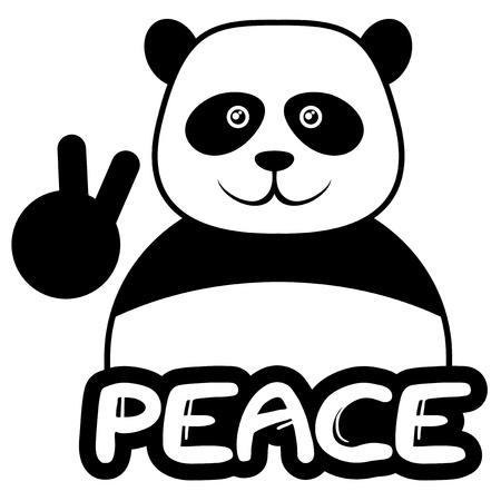 Animal peace 向量圖像