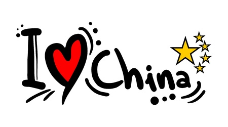 Love China Vector