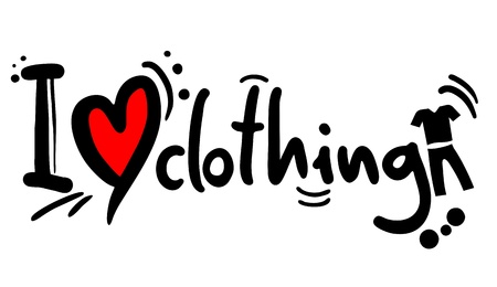 Love clothing Stock Vector - 20185879