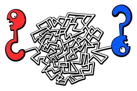 bustle: Creative design of a complicated maze